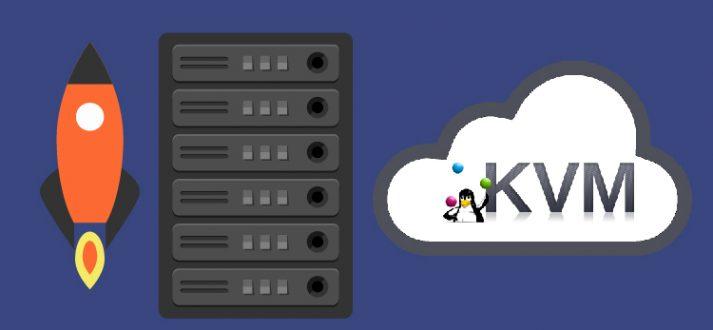 Server technology for kvm vps